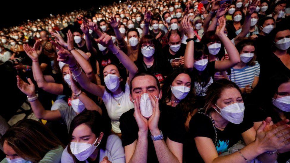 concerts safe pandemic Barcelona