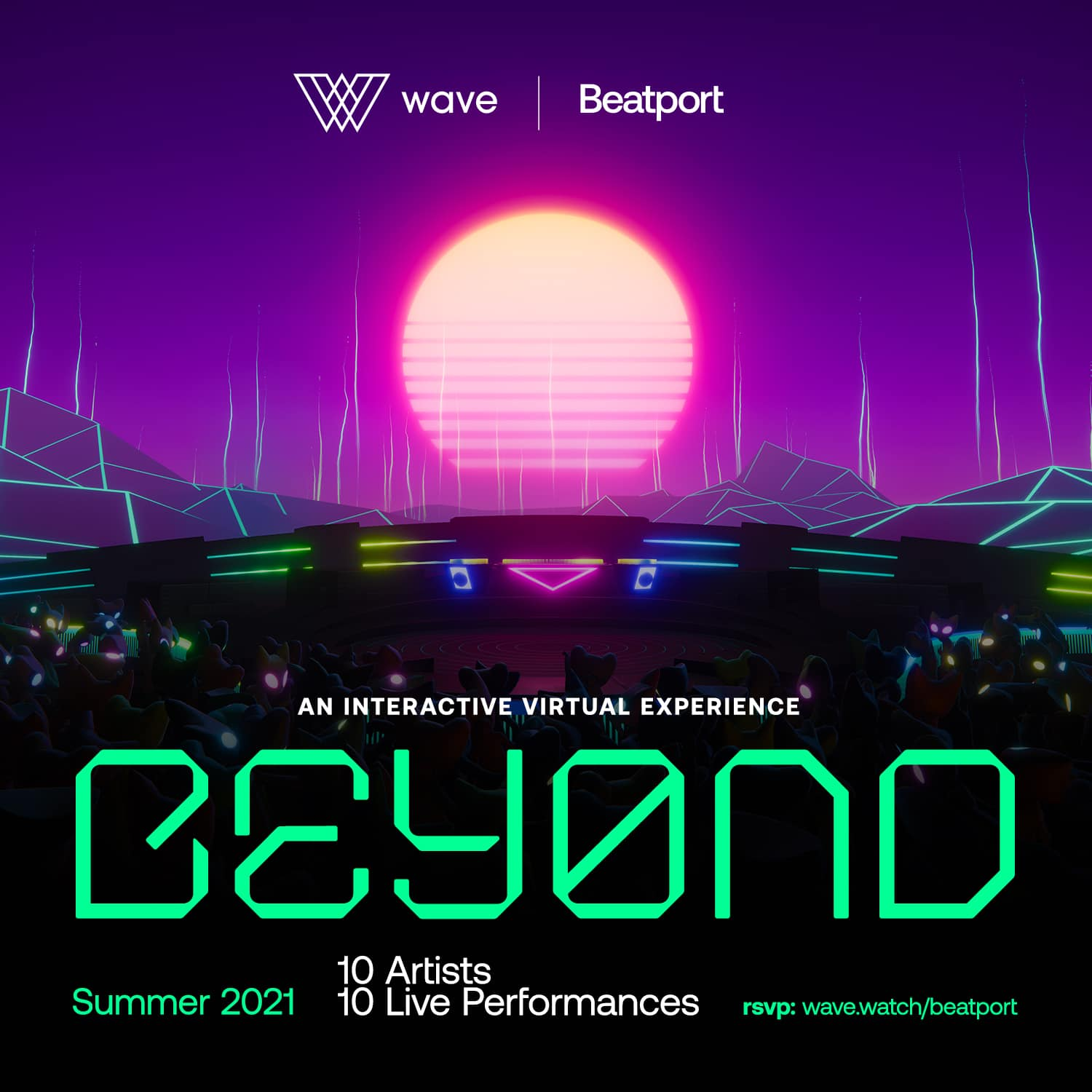 Numerous Artists Join Beatport x Wave A/V Partnership