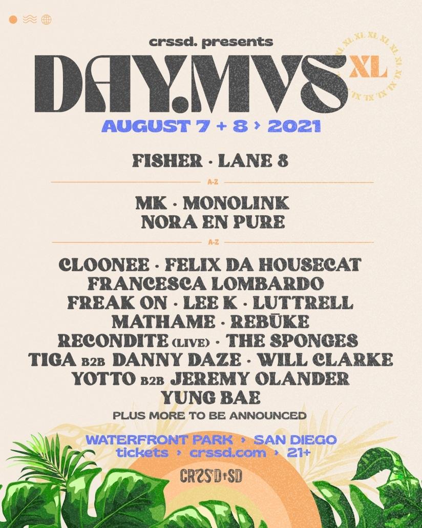 DAY.MVS Lineup